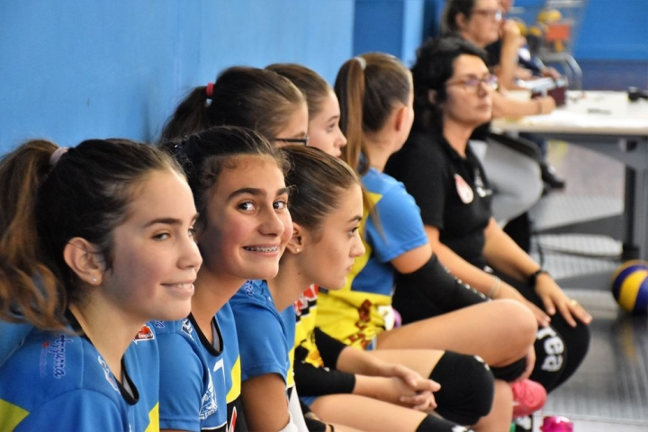 U 14 BEAUTY CENTER VS PIOMBINO BLU 2019/20 (foto andrea forti)